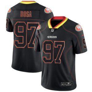 NFL Shirts - San Francisco 49ers Nick Bosa Lights Out Jersey